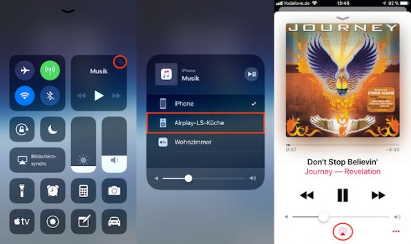 Airplay iOS 11